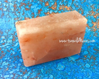 HIMALAYAN SALT BAR, Detox, Exfoliate, Re-mineralize, 12-15oz