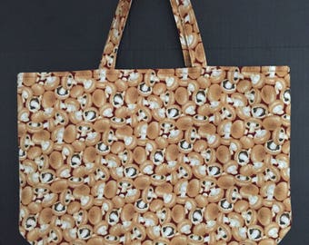 Mushrooom Market Bag/Tote Bag/Shopping Bag