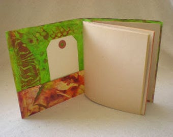 Summer Series Book Binding Workshop - No. 3  Two-in-One Signautre Book with Collage Cover