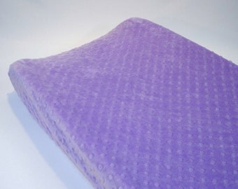 Purple Changing Pad Cover Lilac