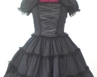 Dark Romantic Gothic Lolita Dress Custom In Your Size