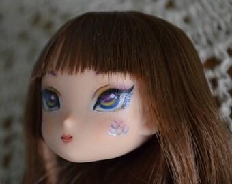 Obitsu Azone Pure Neemo Custom Painted Rooted head