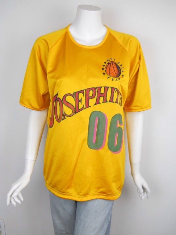 d8413c959e8b best Vintage 90s Josephites Distressed Basketball Jersey by sussudionyc