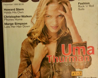 Details 1993 Uma Thurman Pet Shop Boys Marge Simpson grunge 90s fashion style