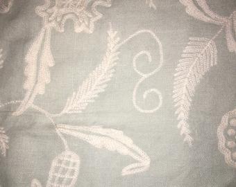 SCHUMACHER Designer Fabric Crewel