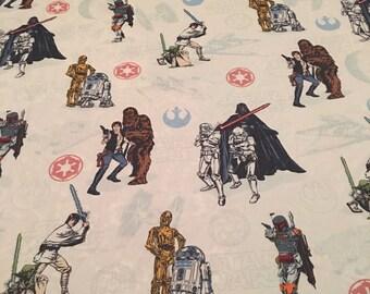 Kohl's Star Wars TWIN FLAT Sheet - Reclaimed Bed Linens