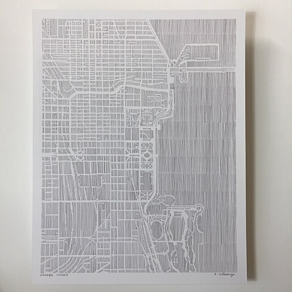 NEW chicago PRINT