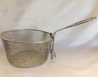 Vintage Fry Basket