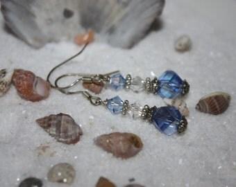 Light Sapphire Swavorski Elements Earrings