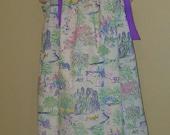 EASTER Pillowcase Dress, Vintage, Bunny, Ducks, Easter Eggs, STORE CLOSING