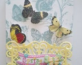"Handmade Easter Card - 5"" x 6.5"""