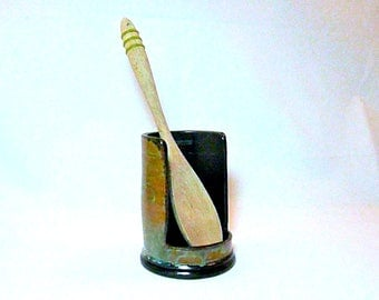 SPOON REST, UPRIGHT, Spoon Holder, Utensil Holder  ,free pendant with each order