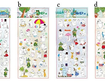 Moomin Puffy Stickers (Mm-103)