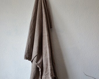 Cotton fabric eco dyed grey yardage lightweight canvas natural earthy tones dyes metre wall hanging rustic material stonewashed backdrop