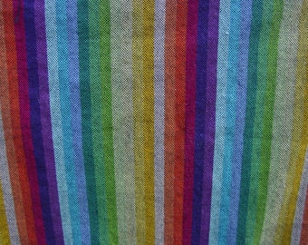 Calico Sunshine Rebel Rainbow - Wrap Scrap Piece - 30 Inches By Full Width Of Wrap