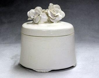 Burial urn, creamation urn, pet urn, child urn, small ceramic urn, porcelain urn, share loved one urn.