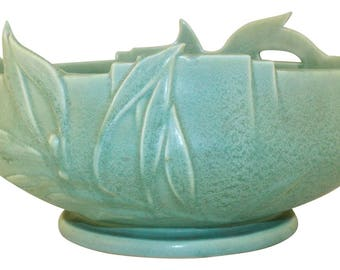 Roseville Pottery Crystal Green Bowl 367-8