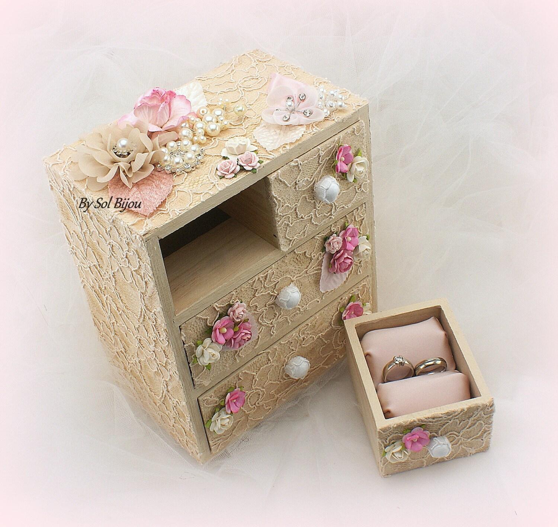 Wedding Ring BoxJewelry BoxKeepsake
