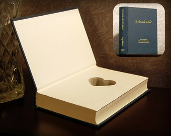 Hollow Book Safe with Heart (To Have and to Hold)