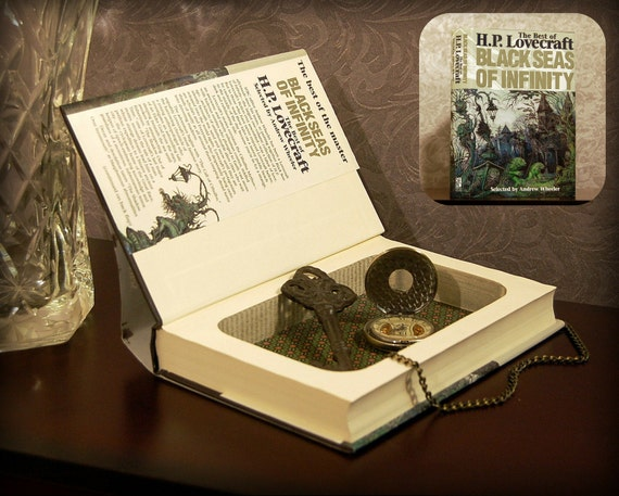 Hollow Book Safe (H.P. Lovecraft: The Black Seas of Infinity)