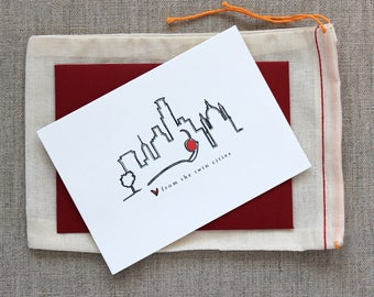 Love from the Twin Cities Notecard Set