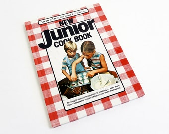 Vintage 1980s Cookbook / Better Homes and Gardens New Junior Cook Book 1988 HC / Introduction to Cooking For Kids, Easy-to-Follow Recipes