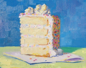 layer cake painting 12x12