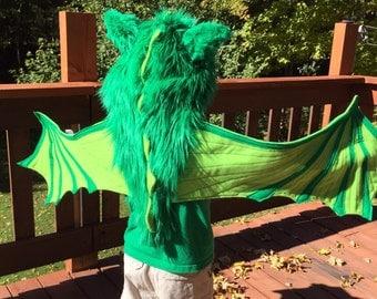 Hooded Dragon Wings