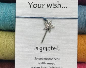 Magic Wand Wish Bracelet