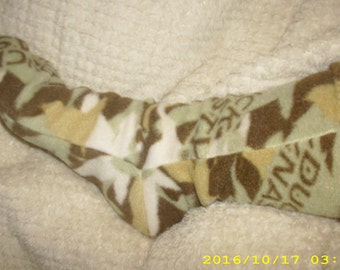 Fleece socks warm winter fleece snow socks DUCK DYNASTY  Print