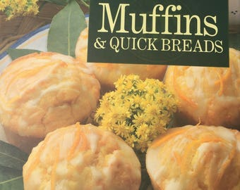 Muffins and Quick Breads -William Sonoma Kitchen Library - Copyright 1993-Reprint 1994 -Great Condition - Near New Recipe Baking Book