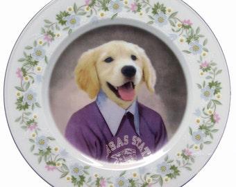 """Max, 4th Grade Portrait Plate 6.25"""""""
