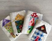 Little house wash cloth set of four