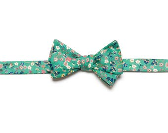 Pomp & Ceremony, Men's Bow tie, Liberty of London Donna Leigh
