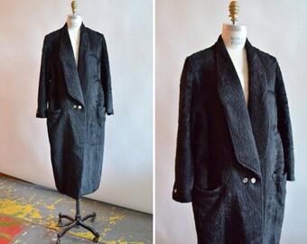 Vintage GIANNI VERSACE alpaca wool coat