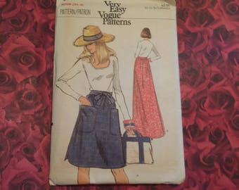 80's Vintage Vogue Sewing Pattern