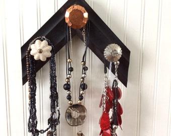 Necklace Wall Holder, Necklace Holder, Necklace Organizer, Necklace hangup, Jewelry Wall Holder, Jewelry Organizer, Jewelry hangup
