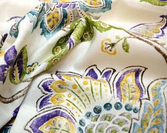 Garden Retreat Chive Kaufman Fabric