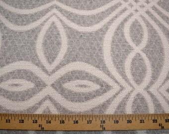 Grey Geometric Upholstery Keystone Fabric