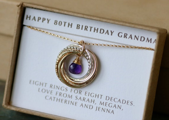 80th birthday gift grandma 80th gift for her february for What to give grandma for her birthday