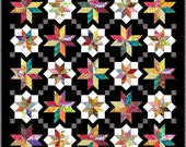 """NEW - LYRICAL - Double 67"""" x 67"""" or Lap 55"""" x 55"""" - Quilt-Addicts Pre-cut Patchwork Quilt Kit or Finished Quilt"""