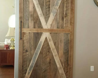 Reclaimed Barnwood Door (Handmade)