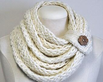 Knit Acrylic Infinity scarf
