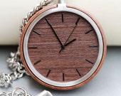Wooden Pocket Watch,Wood Pocket Watch,Pocket Watch Chain,Groom Gift,Groomsmen Gift
