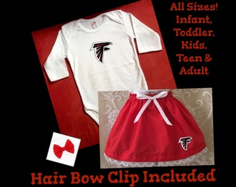 Falcons dress, Falcons tutu, Patriots tutu, Patriots baby, Falcons T-Shirt, Colts, Eagles, Falcons,Giants, Raiders, Steelers, Vikings