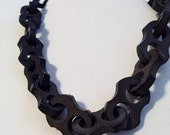 Victorian Vulcanite Choker Necklace