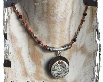 Inspiration Disc Mookaite Necklace