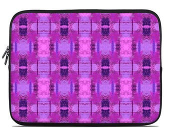 Pink laptop sleeve, pink laptop case, lavender laptop cover, to fit 10, 13, 15, 17 inch