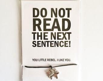 You Little Rebel  - Lion Friendship Bracelet