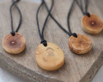 wooden necklaces • wooden necklace • wooden pendant